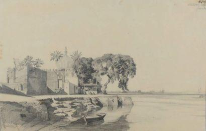 Attribué à Prosper MARILHAT (1811-1847)
