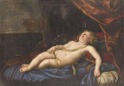 Ecole FRANÇAISE du XVIIe siècle. Le comte...