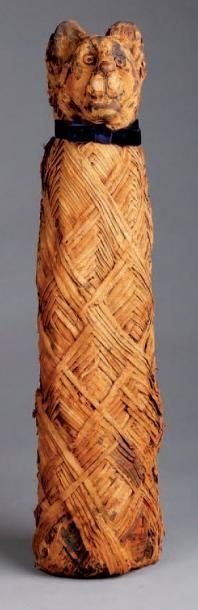 Enveloppe de MOMIE DE CHAT composée de bandelettes...