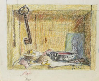 Pierre ROY (1880-1950) Un des pères du surréalisme, selon André Salmon Composition...