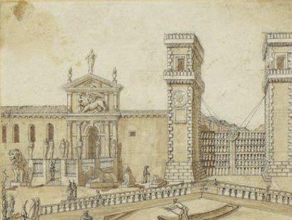 Ecole Italienne de la fin du XVIIIème siècle