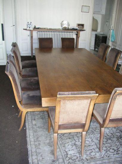 Table de salle à manger rectangulaire en...