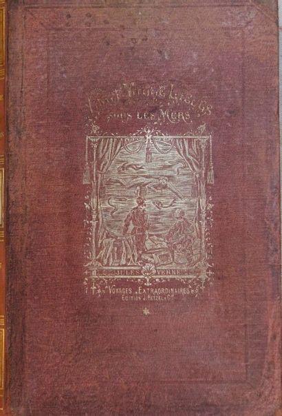 Vingt Mille lieues sous les Mers, 1872. Jules...