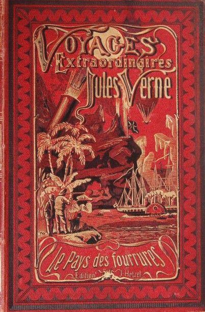 Le Pays des Fourrures. Jules Verne, Les Voyages...