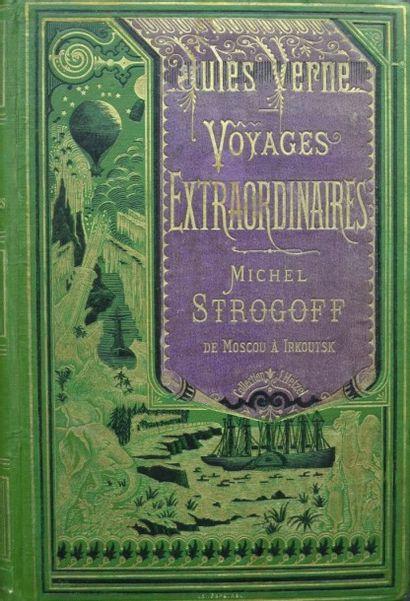 Michel Strogoff. Jules Verne, Voyages Extraordinaires,...