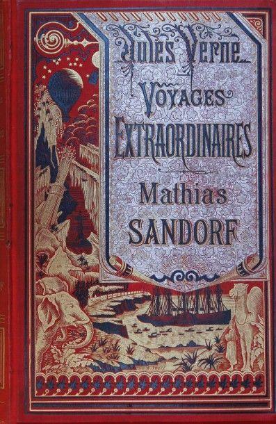 Mathias Sandorf. Jules Verne, Voyages Extraordinaires,...