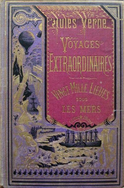 Vingt Mille Lieues Sous Les Mers. Jules Verne,...
