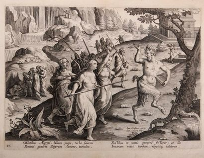 VAN DER STRAET Jan, dit STRADANUS (1523-1605)