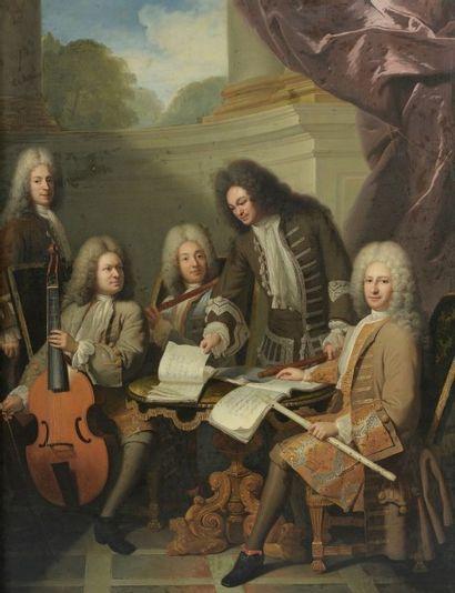 André BOUYS (Hyères 1656-Paris 1740), Attribué à