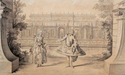 BALLET du XVIIIe siècle.