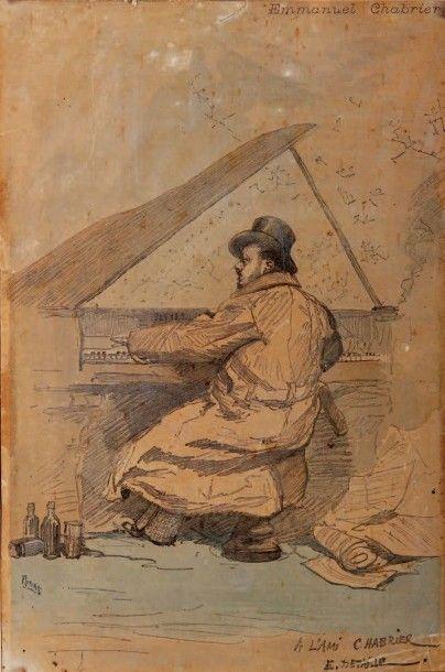 CHABRIER (Emmanuel). - DETAILLE (Édouard)