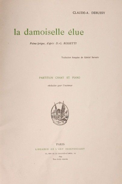 DEBUSSY (Claude A.)