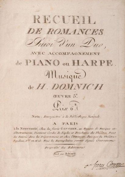 DOMNICH (Heinrich)
