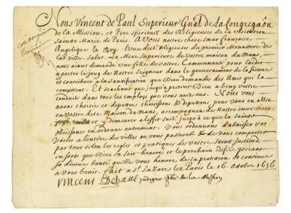 VINCENT-DE-PAUL (Saint). 1576-1660.