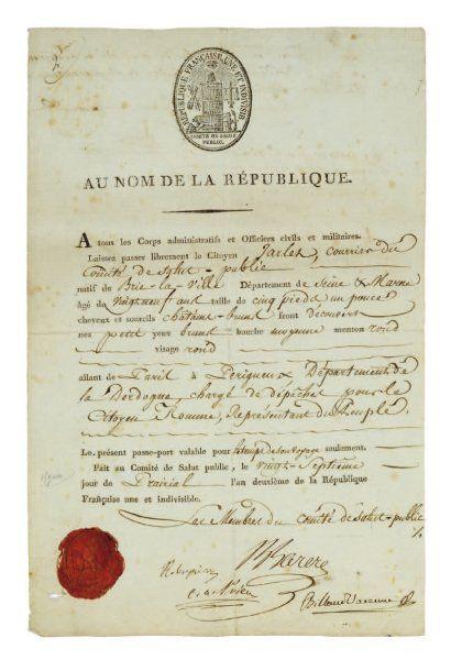 robespierre . 1758-1794.