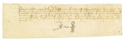 COEUR (Jacques). 1400 ? - 1456.