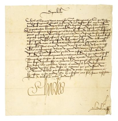 CHARLES VIII 1483 - 1498 CHARLES VIII. 1470-1498.