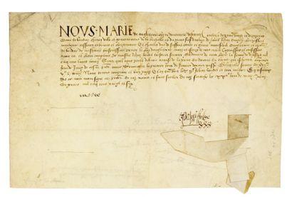 MARIE D'ANGLETERRE. 1496-1533.