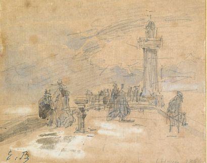 Eugène BOUDIN (Honfleur 1824 - Deauville 1898)