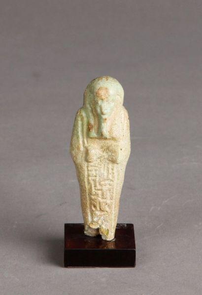 Oushebti d'époque Ptolémaïque inscrit en...