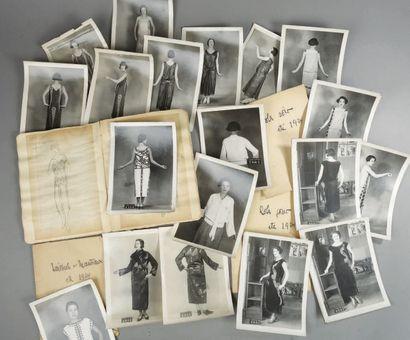 ENSEMBLE DE PHOTOGRAPHIES DATÉES AOÛT 1924...