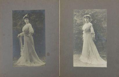 MADELEINE VIONNET EN ROBE D'APRÈS-MIDI, 1905,...