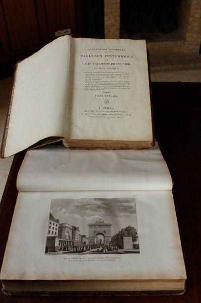Collection complète des Tableaux historique...