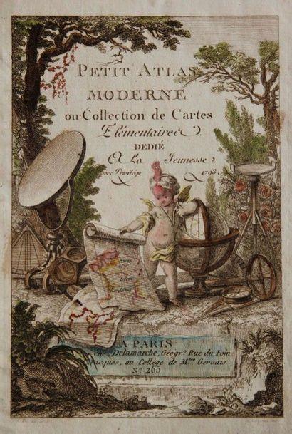 Petit Atlas moderne. Paris, Delamarche, 1793....