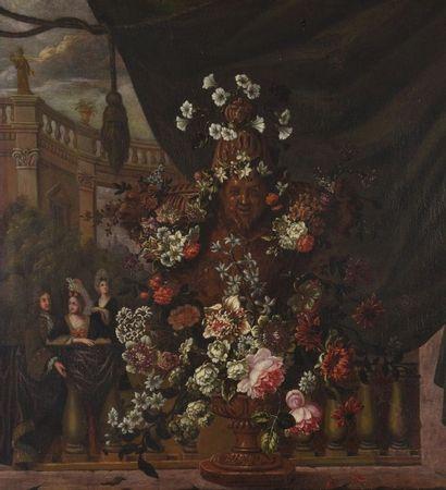 ECOLE FRANCAISE ou FLAMANDE, Premier quart du XVIIIe siècle