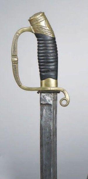 SABRE d'officier de dragon modèle 1841. Garde...