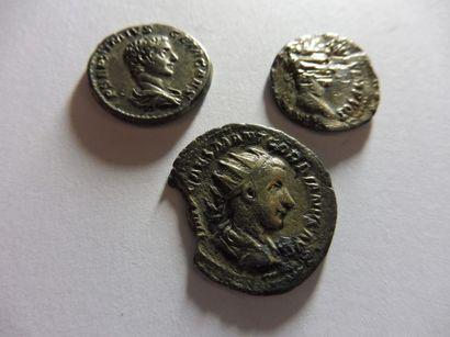 3 PIECES, époque romaine