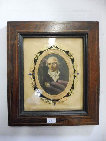 ECOLE FRANCAISE vers 1820 Miniature