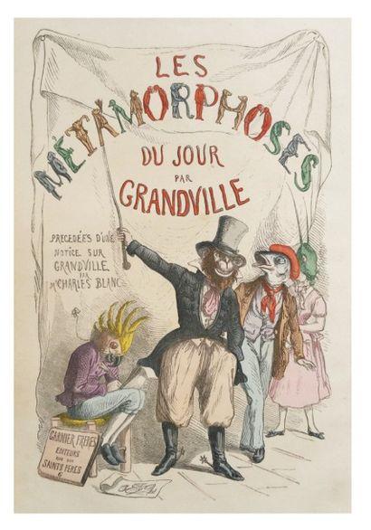 GRANDVILLE (Jean Ignace Isidore Gérard dit Grandville)