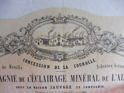 COMPAGNIE DE L'ECLAIRAGE MINERAL DE L'ALLIER...
