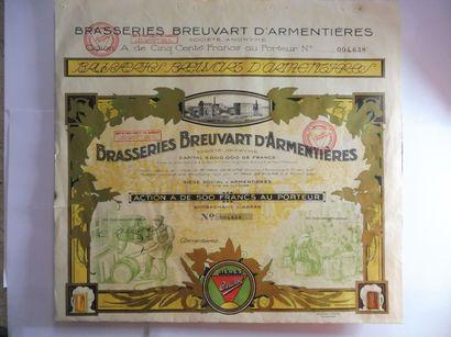 BRASSERIE BREUVART D'ARMENTIERES action A...