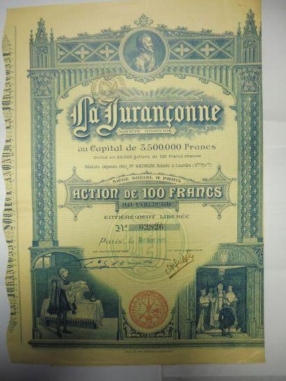LA JURANCONNE (liqueur) action N° 2826 sur...