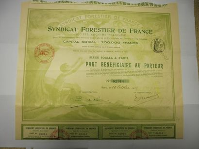 SYNDICAT FORESTIER DE FRANCE action N° 2914...