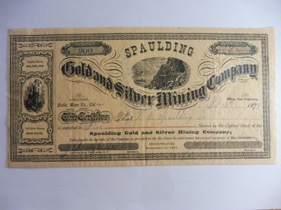 GOLD and SILVER MINING COMPAGNY, SPAULDING;...