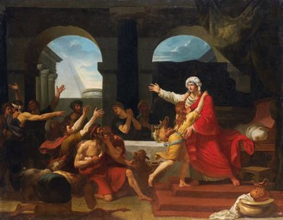 Charles Toussaint LABADIE (actif à Paris à la fin du XVIIIe siècle) Joseph reconnu...