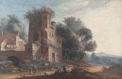 CROIZIER (Ecole française fin XVIIIe-début XIXe siècle)