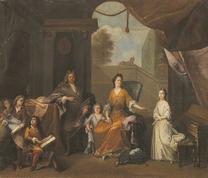Att. à Robert LEVRAC DESTOURNIERES (1668-1752)