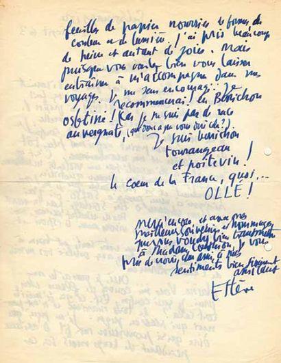 Maurice ESTÈVE (1904-2001)