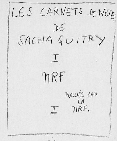 GUITRY (Sacha)