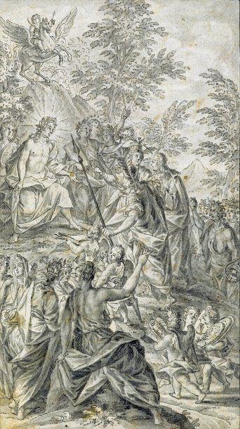 PICARD (Bernard) 1673-1733 (attribué à).