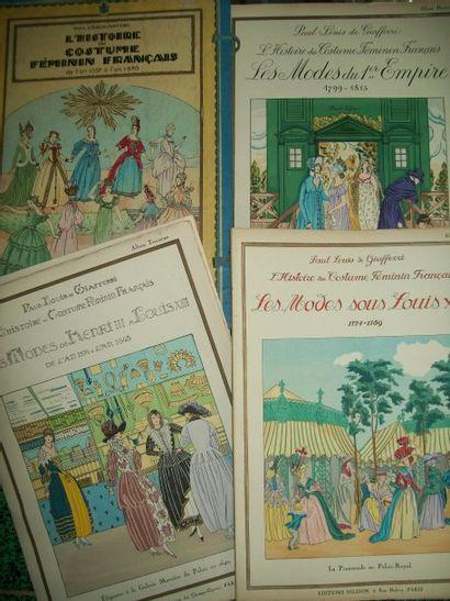 GIAFFERI (P.) L'Histoire du costume féminin...