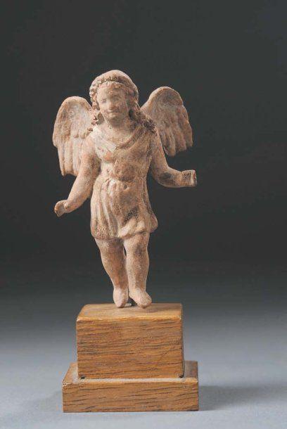 Statuette votive représentant Eros juvénile...