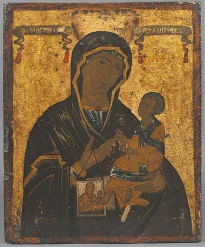 - Notre-Dame du Mont Carmel Sujet rare, la...