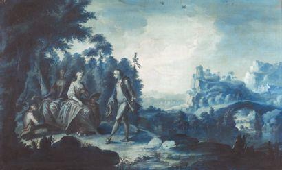 Ecole HOLLANDAISE du XVIIIe siècle