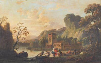Ecole FRANÇAISE vers 1820, suiveur de Claude-Joseph VERNET
