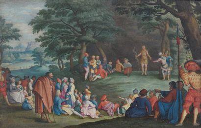 Non Venu - ECOLE FRANÇAISE du XVIIe siècle